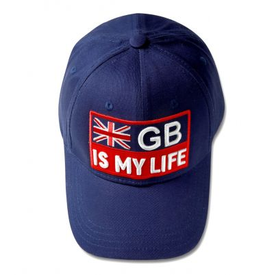 GB IS MY LIFE Baseball Cap - Blue