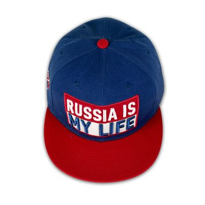 RUSSIA IS MY LIFE Baseball Cap - Blue