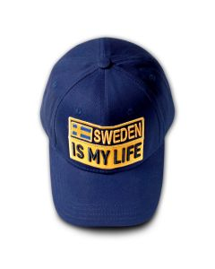 SWEDEN IS MY LIFE Baseball Cap